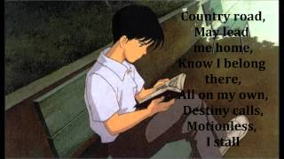 Whispers of the heart - Country Road (with lyrics)