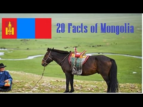 Top 20 Shocking Facts About Mongolia