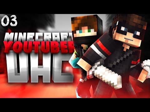 Minecraft YouTuber UHC Season 2: Episode 3 - Déjà vu (Ft. The Pack & The Cube)