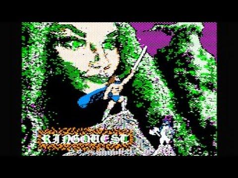 Ring Quest Walkthrough/longplay (Apple II - Penguin Software)