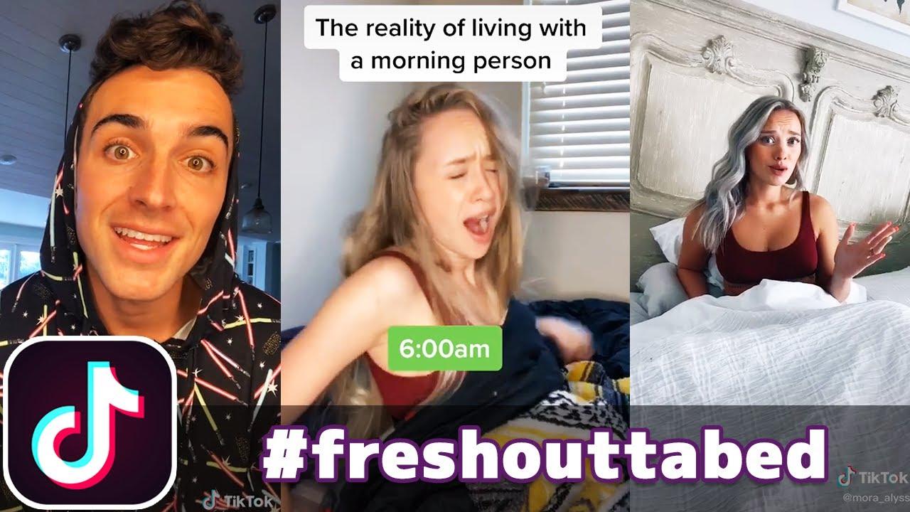 #freshouttabed Challenge | TikTok Compilation