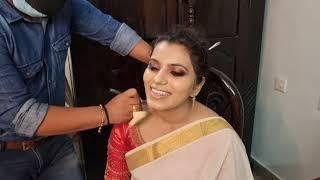 Kerala bridal Makeover I Happy Bride Kollam I kerala wedding style I Vikas Vks Makeup artist