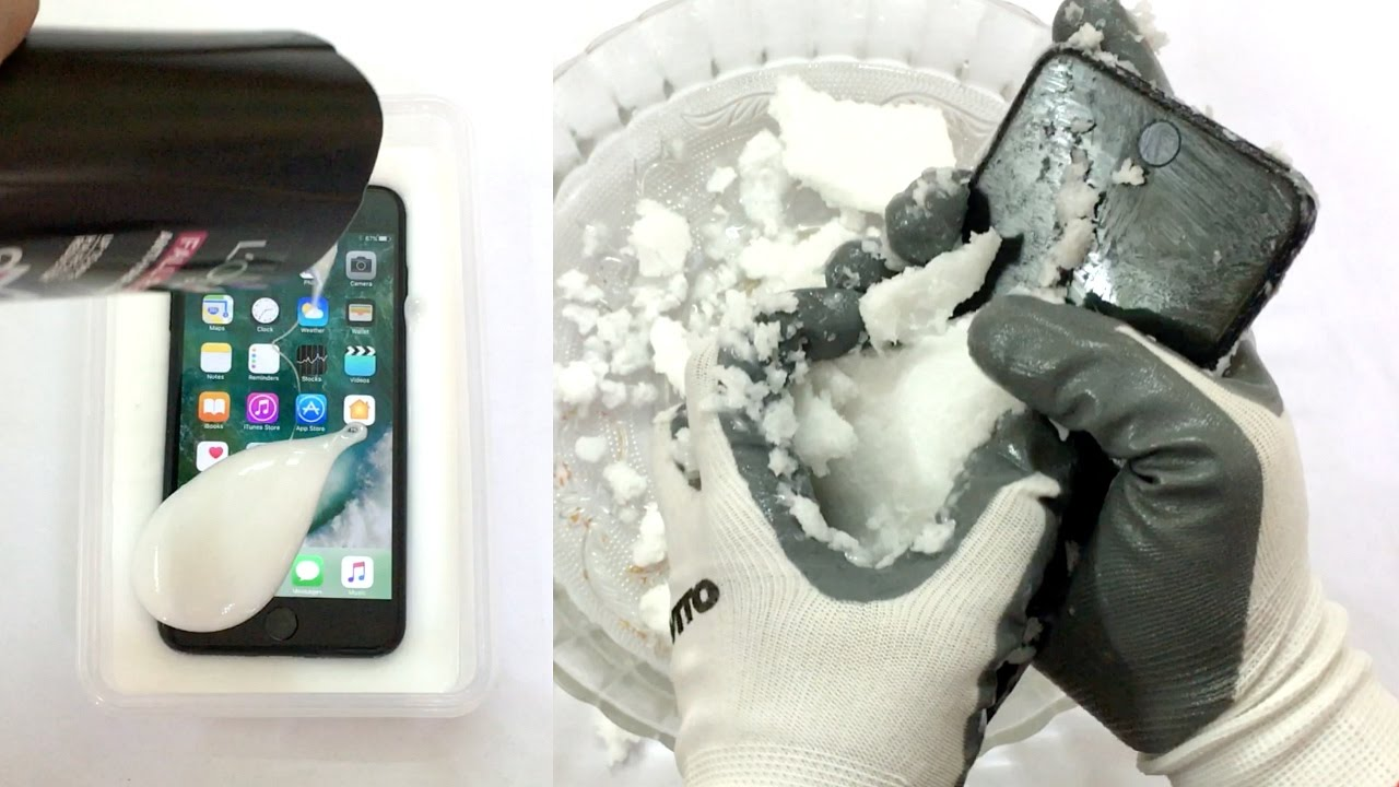 iphone 6 plus freezing iphone 7 plus shampoo freeze test what will happen next 1239