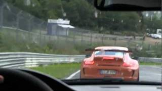 BMW M3 GTS and Porsche GT3 RS Nurburgring 7min55 BTG