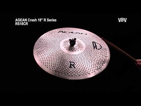 "18"" Crash R Series - Silent Cymbal video"