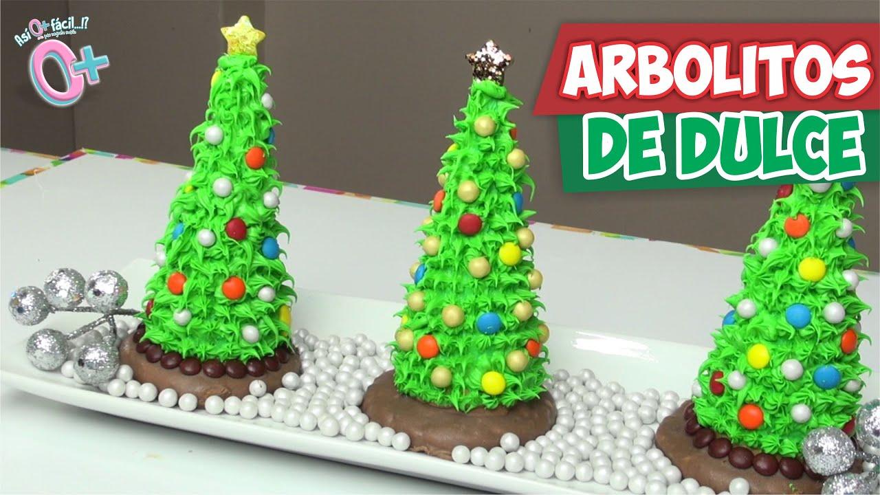 Postres Para Una Feliz Navidad.Postre Arbolitos Navidenos Asi O Mas Facil Diy Navidad