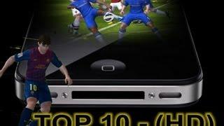 TOP 10 Jogos de futebol para iPhone, iPod Touch e iPad ᴴᴰ