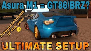 Asura M1 Ultimate Setup + Test Drive! (Toyota GT86/Subaru BRZ Ultimate) CarX Drift Racing