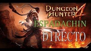#1 Dungeon Hunter 4 Espadachín Gameplay Español Windows 8.1