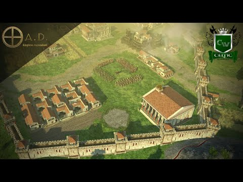 A ROMAN CITY IN THE HEART OF GAUL! 0 A.D. Gameplay