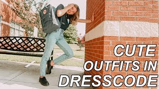 Back to school outfits that are in dresscode (and actually cute)