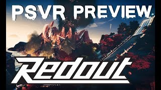 Redout (PSVR) preview | The world