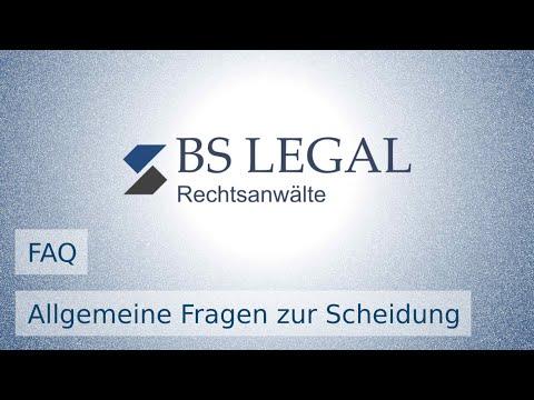 Allgemeine Fragen zur Scheidung (FAQ) | BS LEGAL