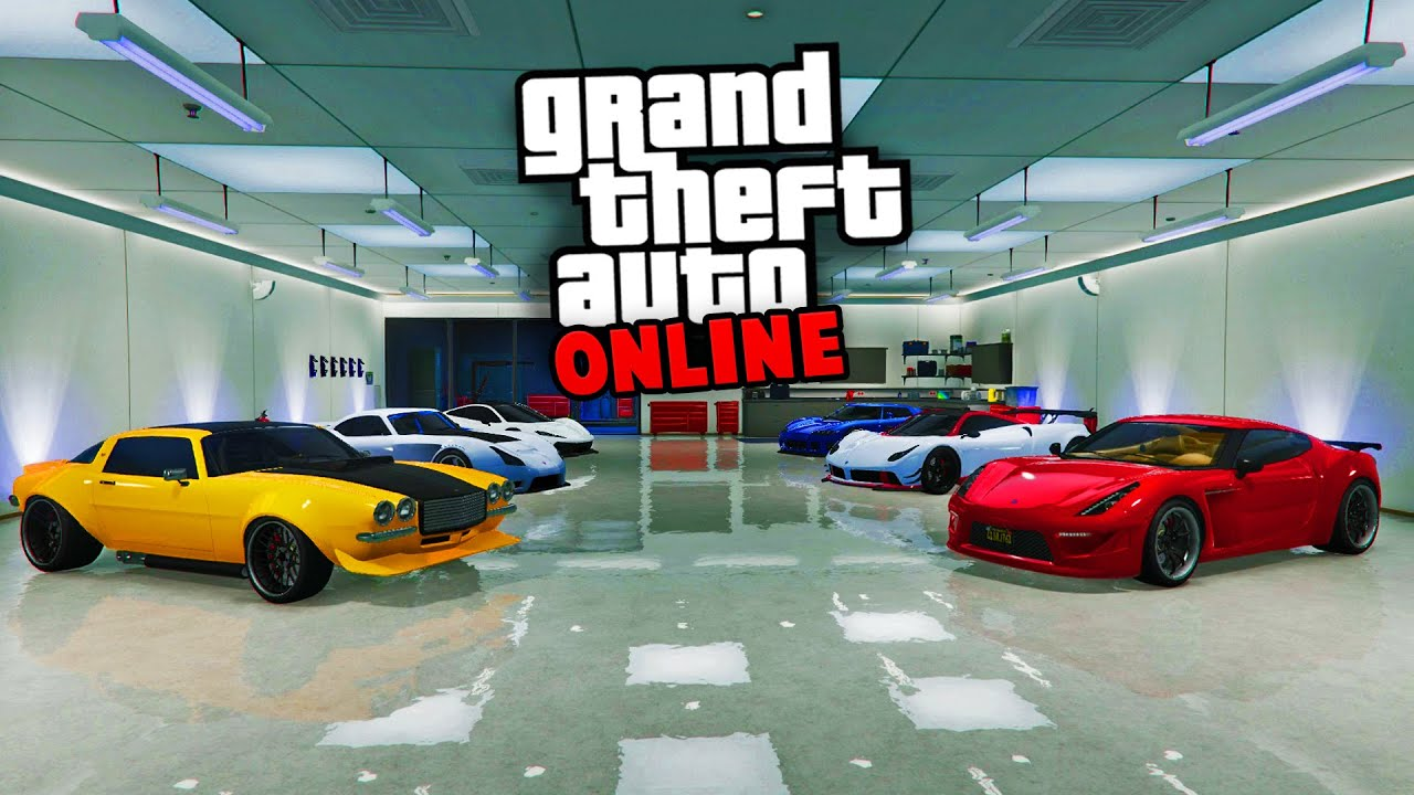 Garage De Luxe Gta 5 Online Youtube