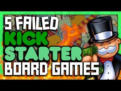5 FAILED Kickstarter Board Games - SGR
