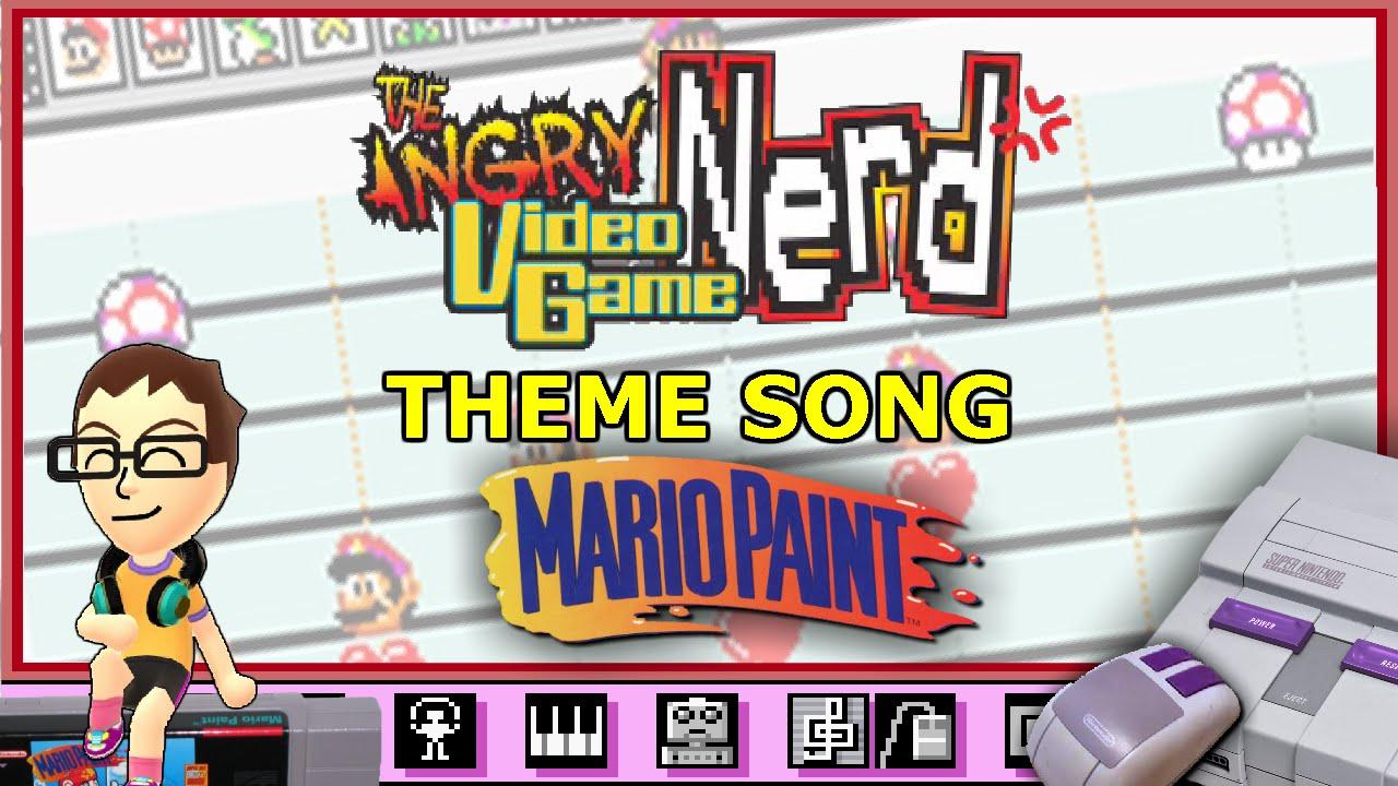 Angry Video Game Nerd - 8-bit Theme - YouTube