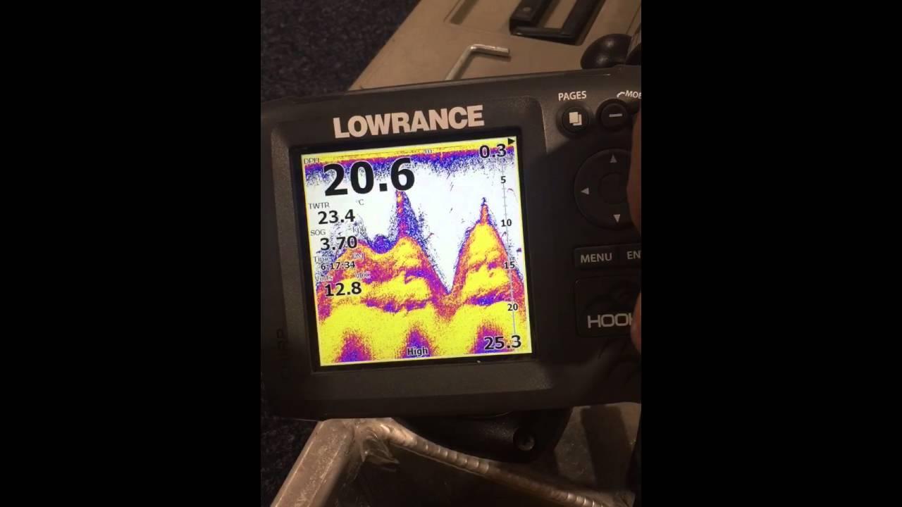 Lowrance Hook 5 Fishfinder
