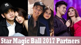Star Magic Ball 2017 Love Teams