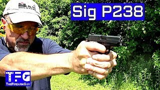 Sig Sauer P238 Range Review - TheFireArmGuy