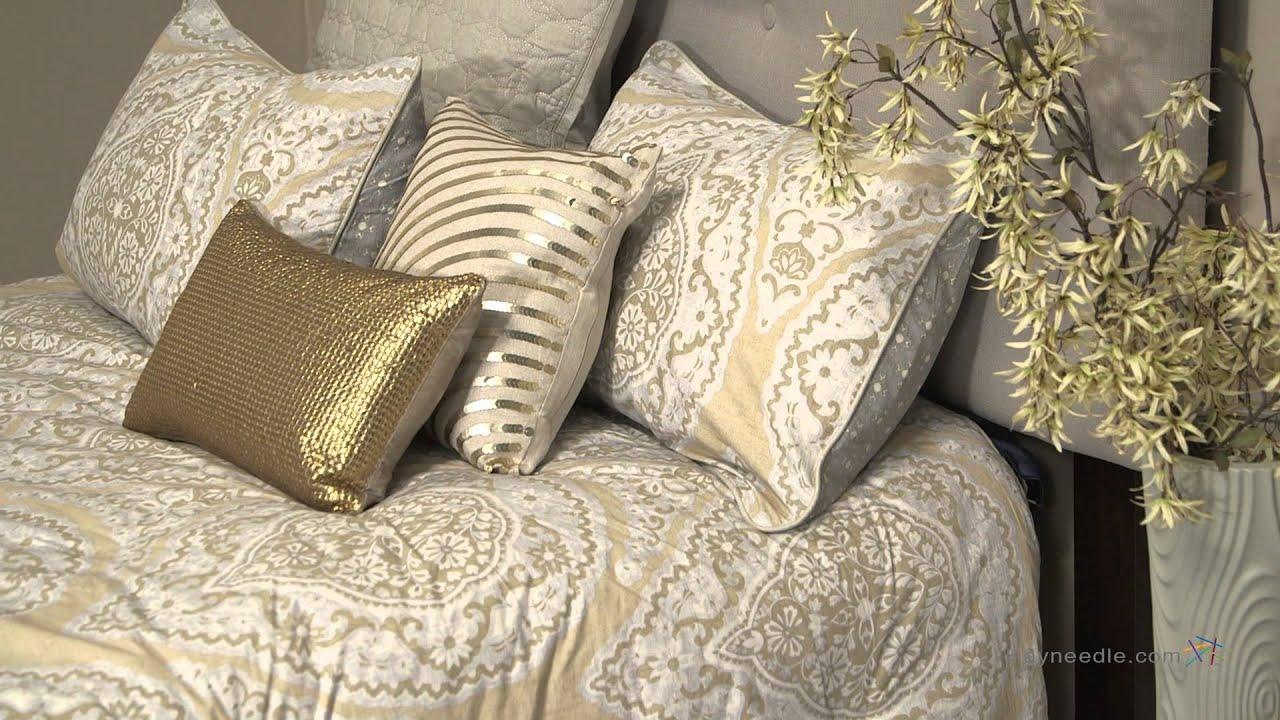 modern living taj bedding set with optional pillows  youtube - modern living taj bedding set with optional pillows