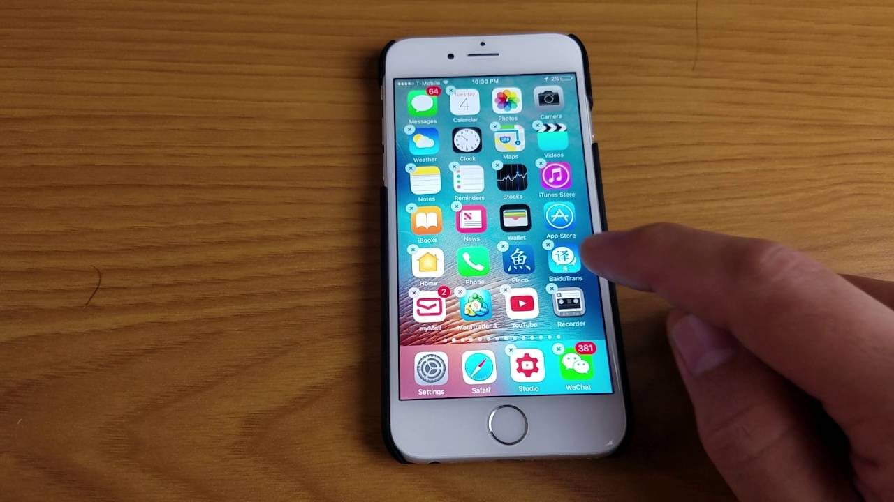 Iphone Ipad Ipod How To Delete App That Won T Delete From