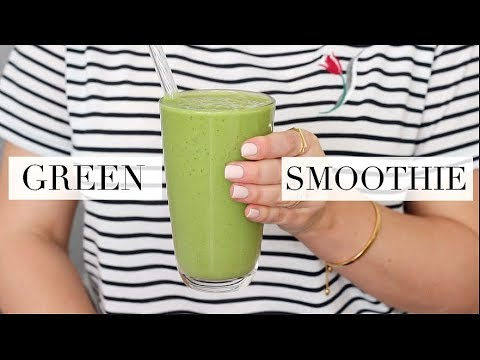 The Best Green Smoothie (Vegan/Plant-based) | JessBeautician