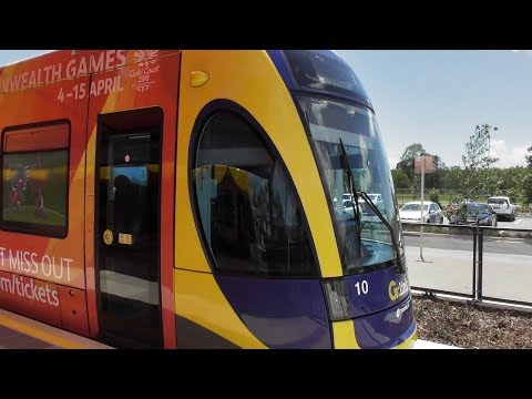 G:LINK Helensvale extension opening day