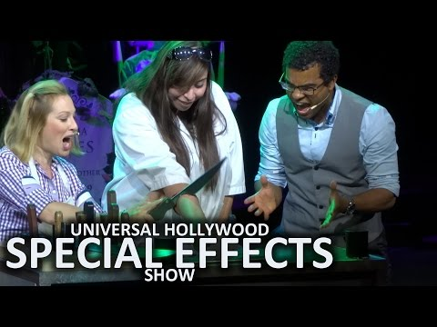 NEW Full Special Effects Show 2016 at Universal Studios Hollywood