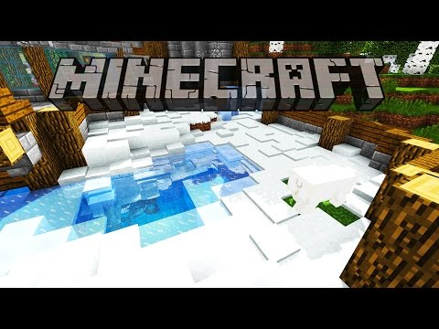 Polar Bear Exhibit & Villager Flusher | Minecraft Survival Let's Play