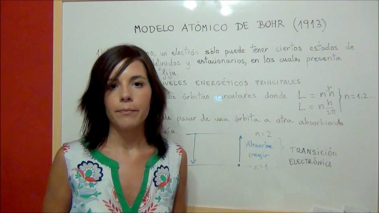 Quimica Estructura De La Materia Modelo Atómico De Bohr Youtube