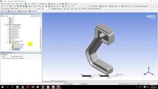 Asesoria ANSYS Static Structural / Buckling - Parte 7 (PINZA)