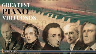 The Greatest Piano Virtuosos | Chopin, Rachmaninoff, Liszt, Ravel, Schumann