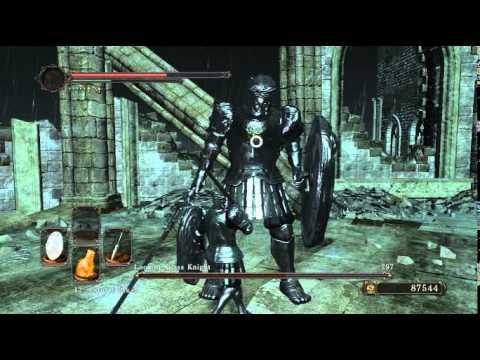 Looking Glass Knight VS Looking Glass Knight - Boss Fight -Dark Souls 2