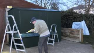 How To Build A Secure Shed... In Less Than A Minute!