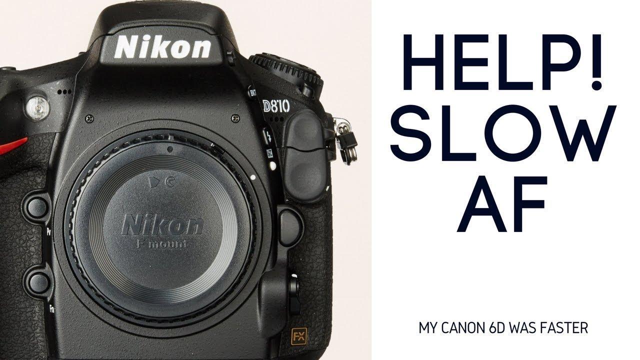 SLOW Nikon D800 Auto Focus  Nikon D750 BETTER???