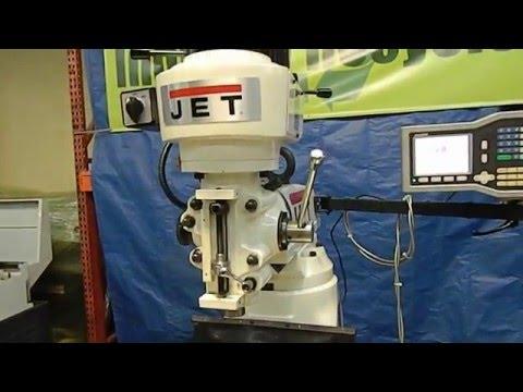 JET 690036 Vertical Knee Mill Demo