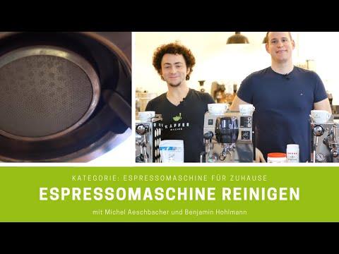 Espressomaschine reinigen - so geht es einfach und schnell