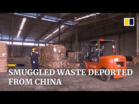 China sends smuggled contaminated waste back to US, South Korea