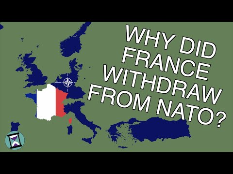Why did France Leave NATO? (Short Animated Documentary)
