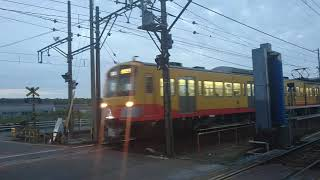 三岐鉄道保々駅踏切