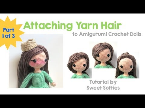 How to put hair on dolls. Abum on https://www.facebook.com/media ...   360x480
