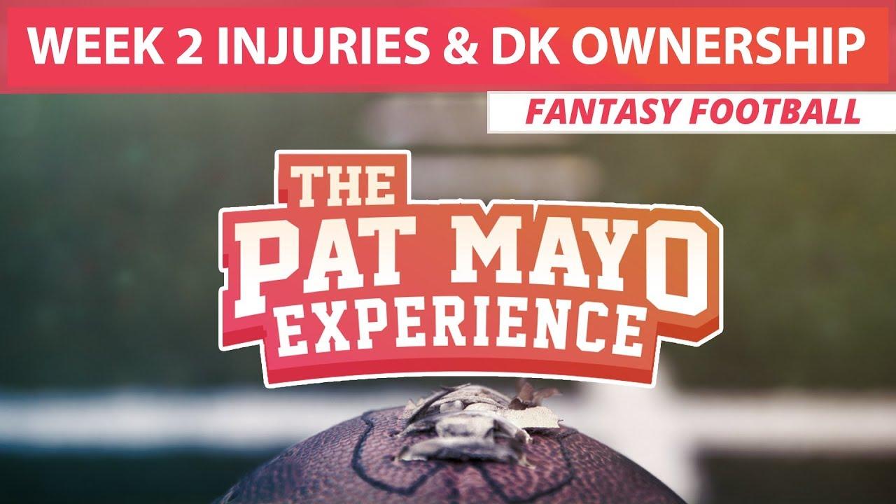 Week 2 Fantasy Football Injury Report