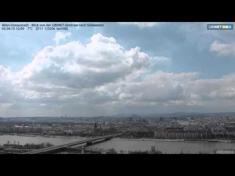2015 at a glance: Vienna weather web cam - 1 Year time lapse