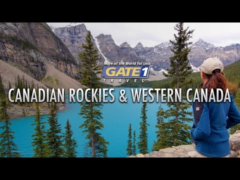 Visit the Canadian Rockies with Gate 1 Travel