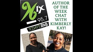 96 KIX Kimberly Kay Author of the Week Interview with M.J. Kane!