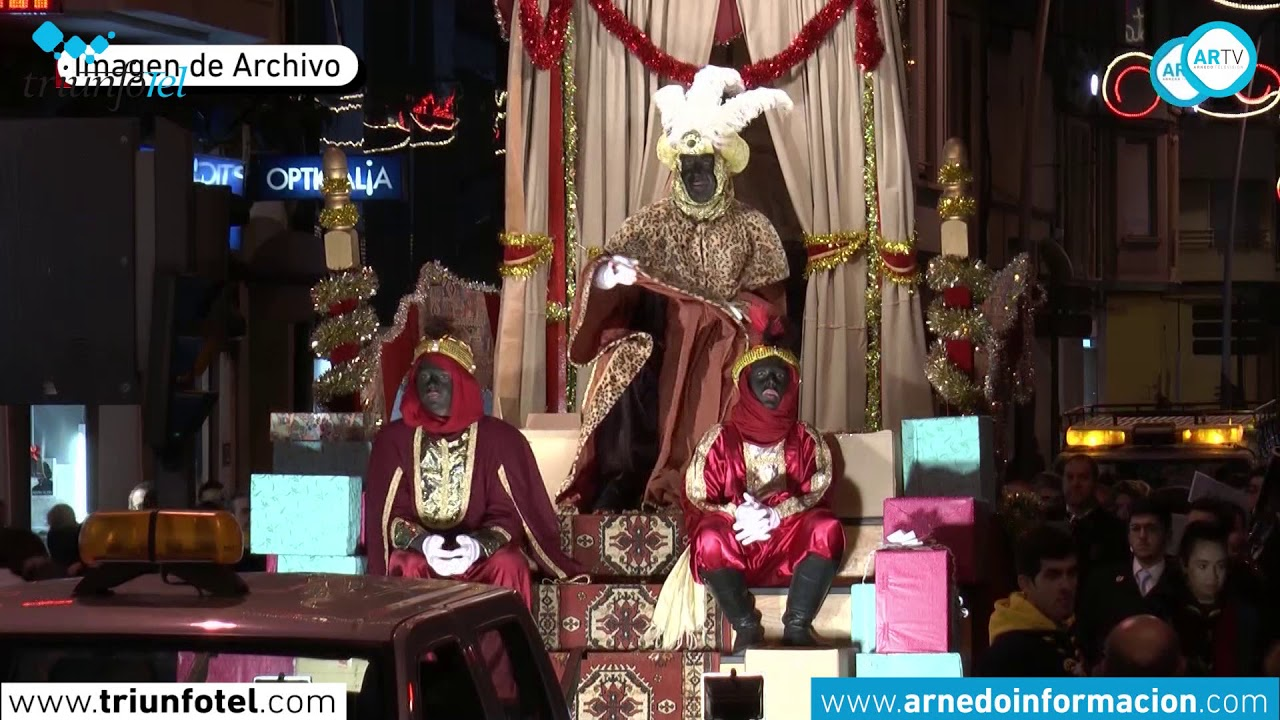 75575f66b64cf Cabalgata de Reyes en directo desde Arnedo TV - YouTube