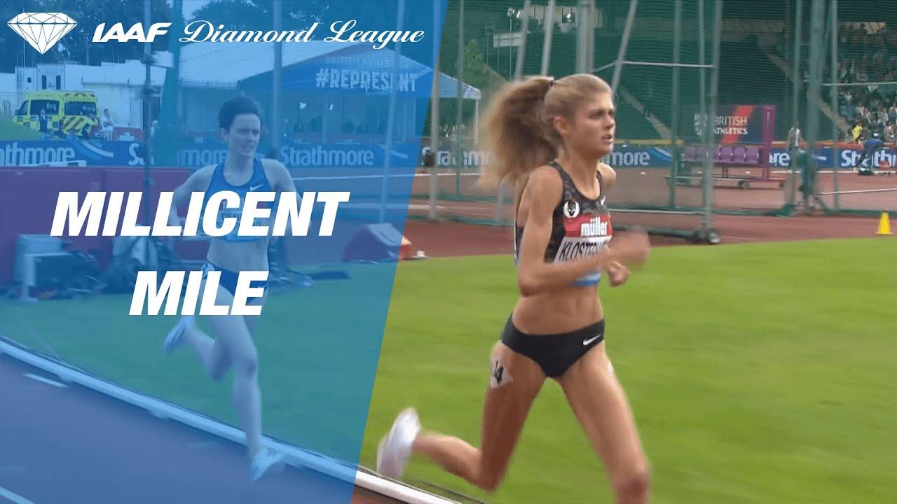 Konstanze Klosterhalfen Sets A Meeting And National Record In Birmingham Iaaf Diamond League 2019 Youtube