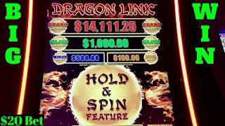 Dragon Link Panda Magic Slot Machine BIG WIN Bonus w/$7.50 Bet  | Free Games + Lighting Link Feature
