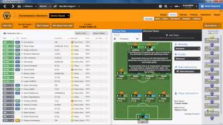 Football Manager 2014 - Wolves Career Mode Story #1 | Creating A Tactic | Gameplay
