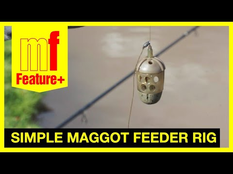 Robbie Griffiths' Simple Maggot Feeder Rig